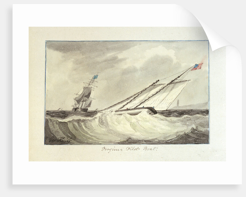 Virginia pilot boat by George Heriot