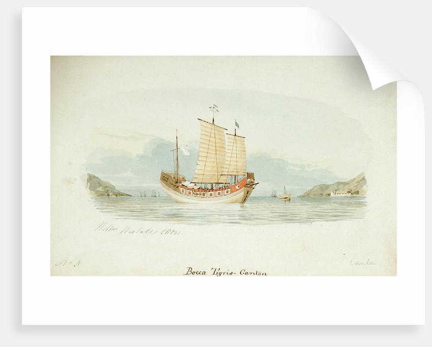 No.3. Bocca Tigris-Canton by William Westall