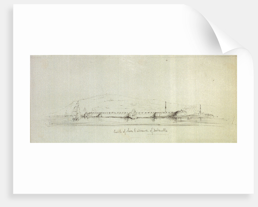 Castle of Asia Entrance of Dardanelles by George Pechell Mends