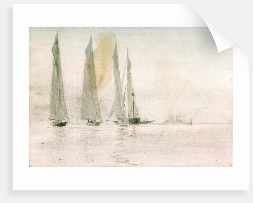 Big Yachts by William Lionel Wyllie