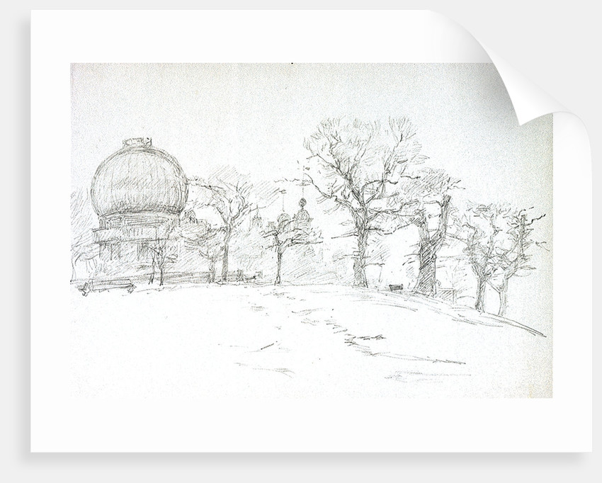 Greenwich (Royal Observatory) by William Lionel Wyllie