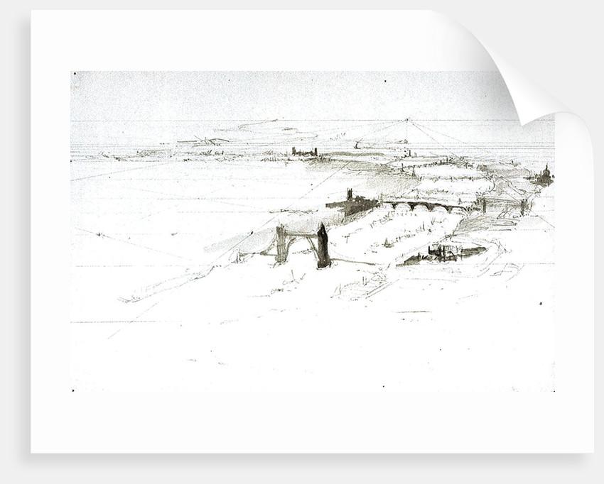 Plan by William Lionel Wyllie