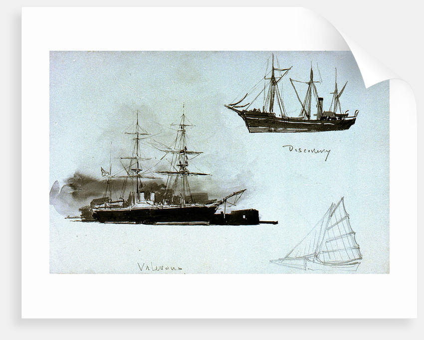 Discovery', 'Valorous by William Lionel Wyllie