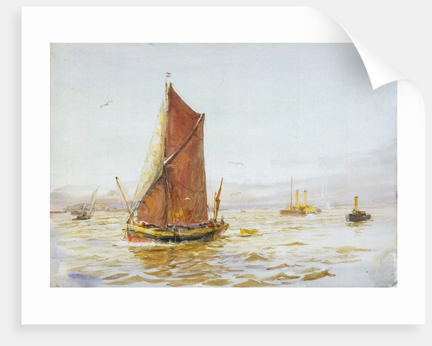Barge by William Lionel Wyllie