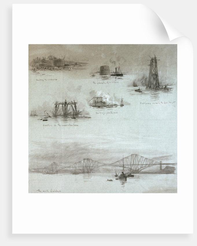 Forth Bridge by William Lionel Wyllie