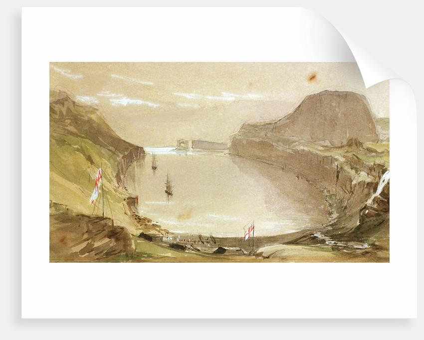 Christmas Harbour, Kergeulen Island by J.E. Davis