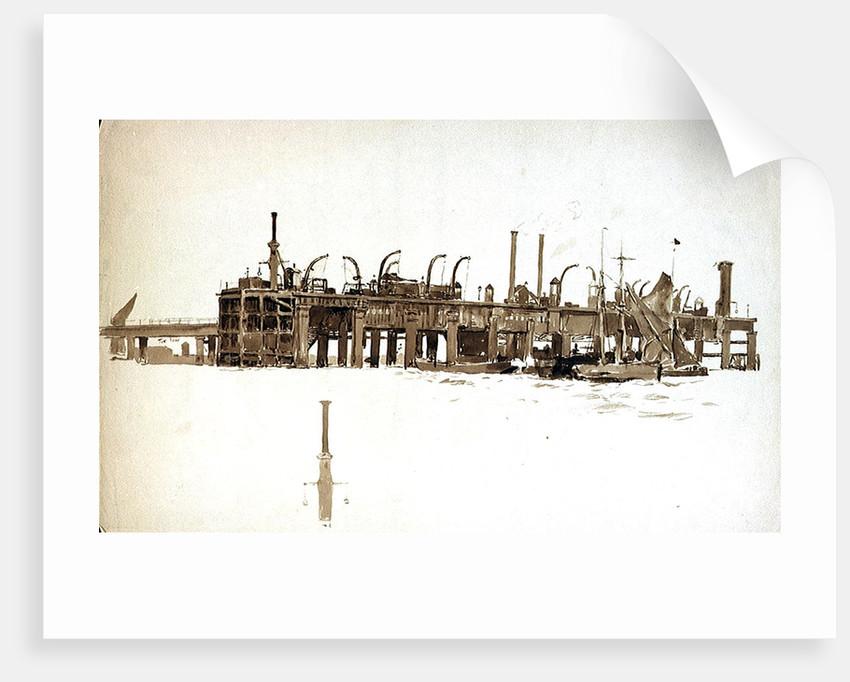 Becton Gasworks by William Lionel Wyllie