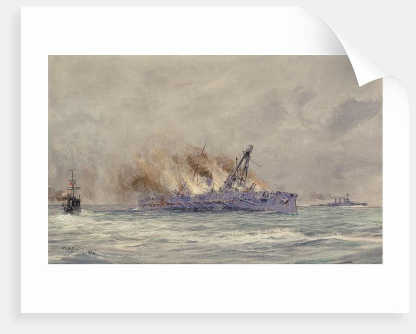 The last of Blücher by William Lionel Wyllie