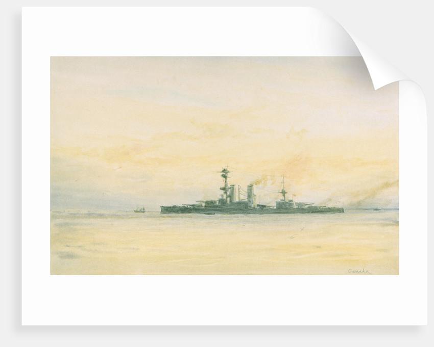 HMS 'Canada' by William Lionel Wyllie
