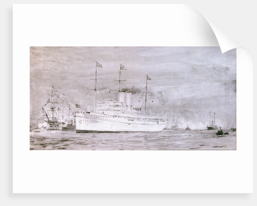 HMS 'Medina' by William Lionel Wyllie