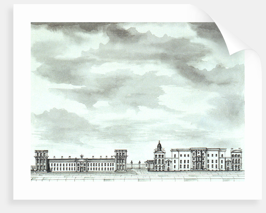 View of the Royal Hospital, Greenwich by John Charnock