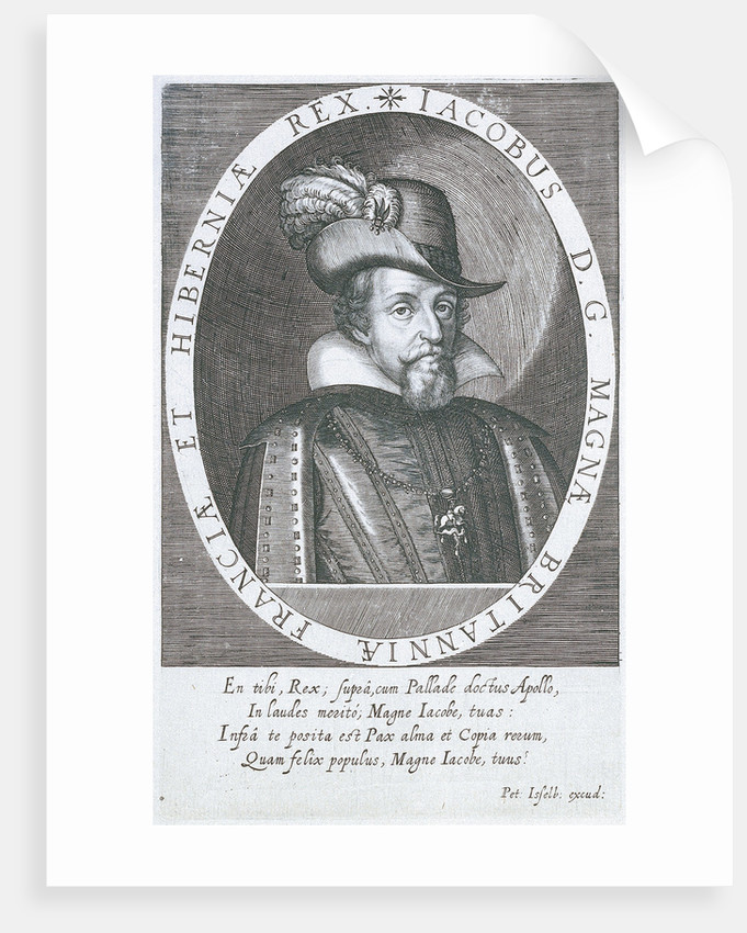 James I (1566-1625) by C. G.