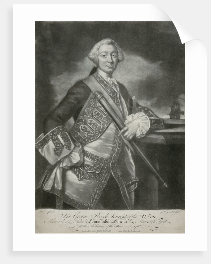 Sir George Pockock by Thomas Hudson