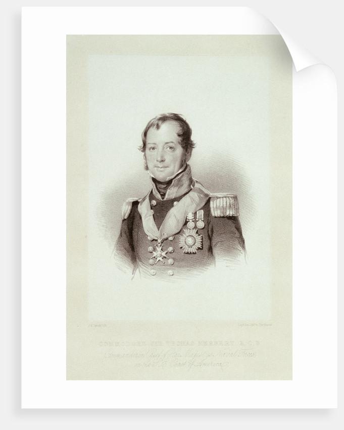 Commodore Sir Thomas Herbert, K.C.B. by J.H. Lynch