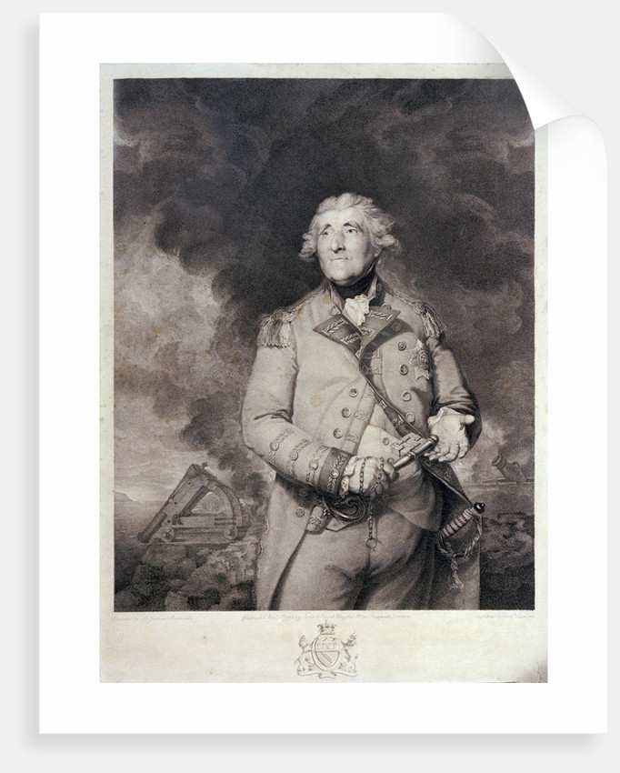 Lord Heathfield by Joshua Reynolds