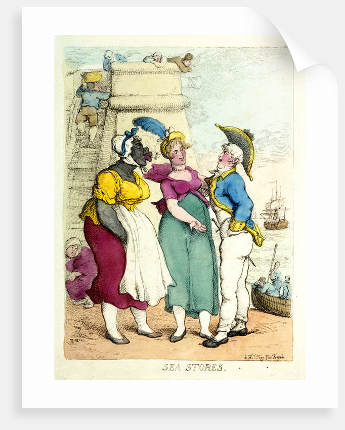 Sea Stores by Thomas Rowlandson