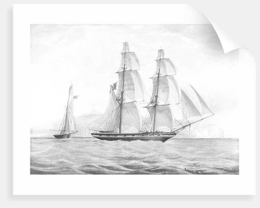 HM Brig 'Penguin' (1838) by unknown