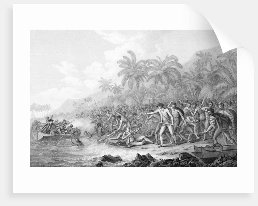 Death of Captain Cook by John Webber