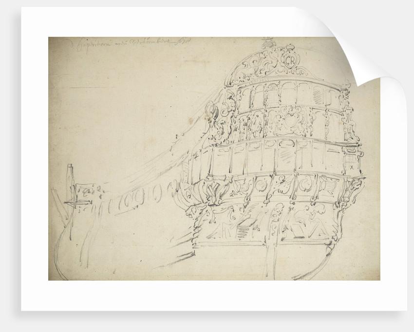 The 'Happy Return' by Willem Van de Velde the Younger