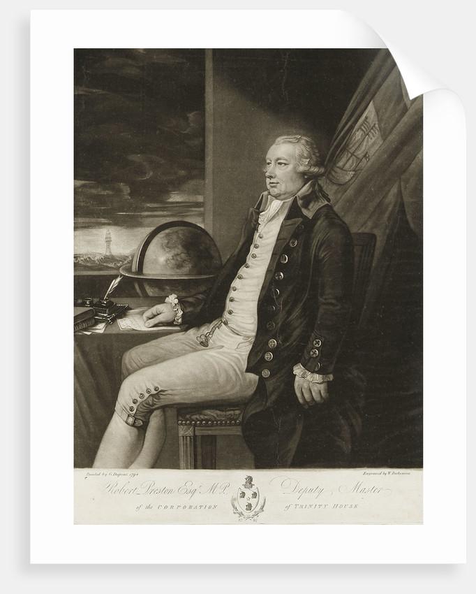 Robert Preston (1740-1834) by Gainsborough Dupont