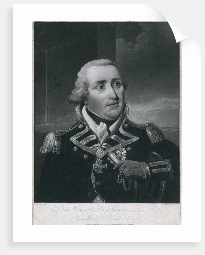 Rear Admiral Sir Thomas Louis (1759-1807) by Richard Livesay