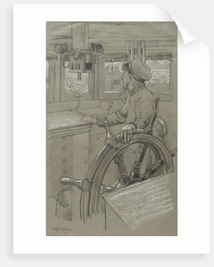 HM Trawler 'Coxswain' by Stephen Bone