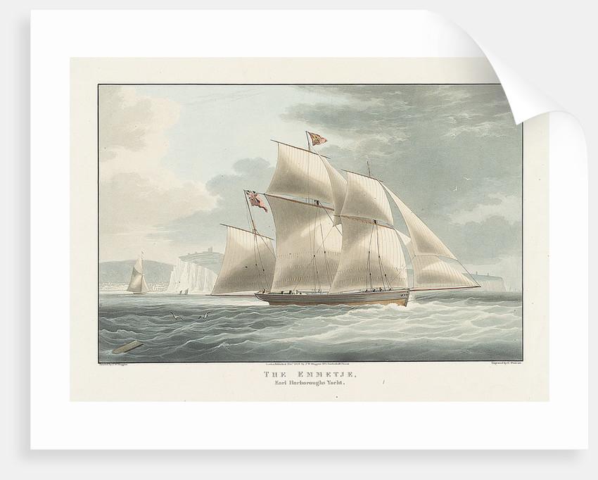Earl Harborough's yacht 'Emmetje' by William John Huggins