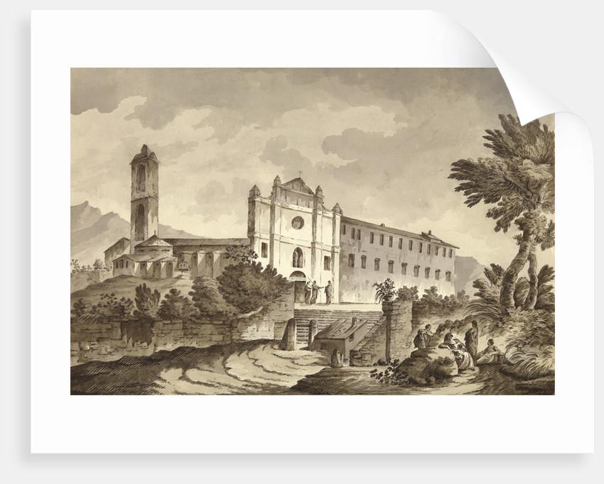 Convent near Bastia, Corsica by unknown