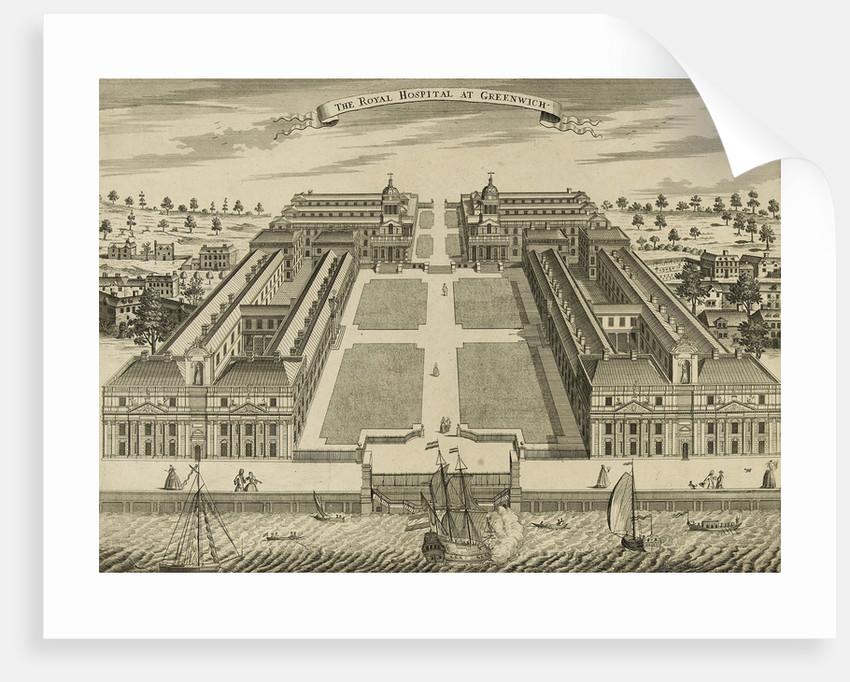 The Royal Hospital at Greenwich by Sutton Nicholls
