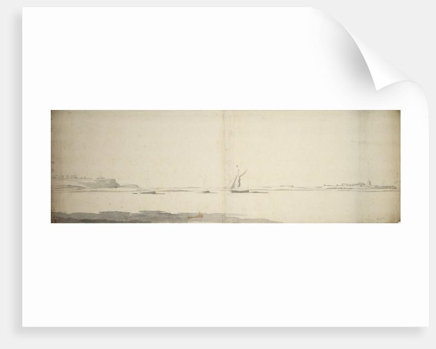 View of Sheerness by Willem van de Velde the Elder