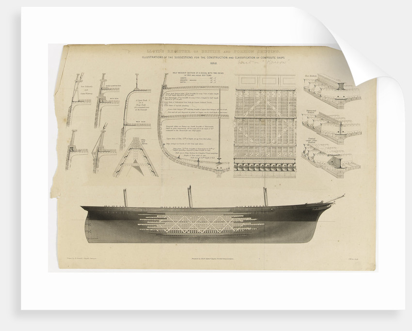 Lloyd's register of British and foreign shipping by H. Cornish