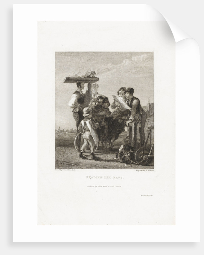 Reading the News by David avid Wilkie