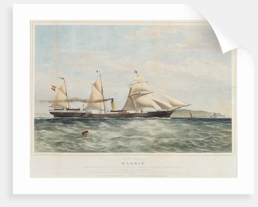 The 'Madrid' (Pt, 1845) by William Clark