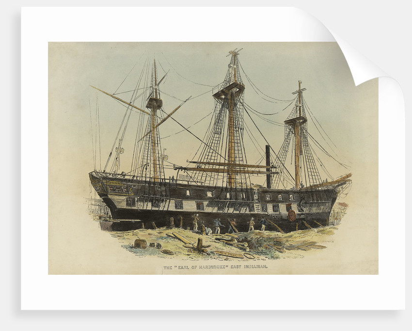 The 'Earl of Hardwicke' East Indiaman by W.H. Prior