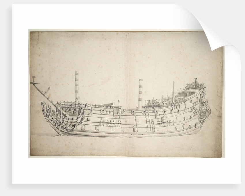 The 'Triumph' by Willem van de Velde the Elder