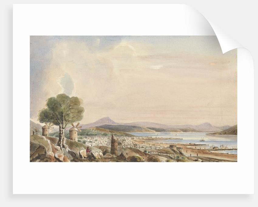 Egina, 1846 (Aegina, Greece) by Harry Edmund Edgell