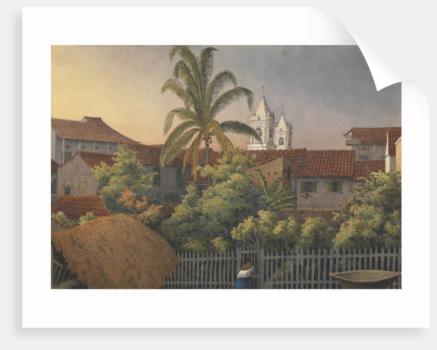 From a back window in Panama, March 10th 1850 by Edward Gennys Fanshawe
