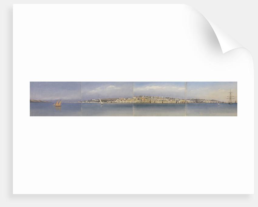 Panorama of Lisbon, Portugal, 1856 by Edward Gennys Fanshawe