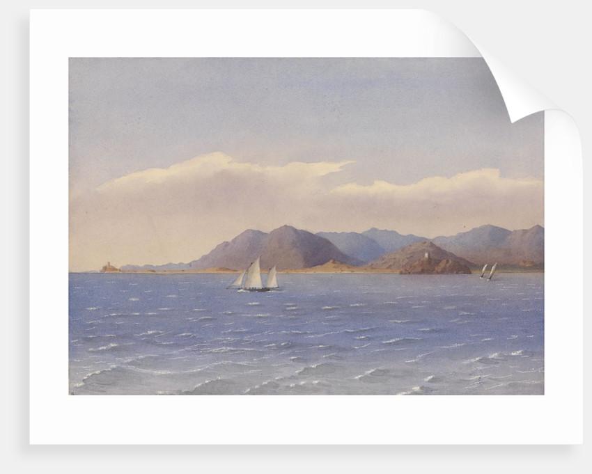 Pula, Bay of Cagliari, June 1857 [Sardinia] by Edward Gennys Fanshawe