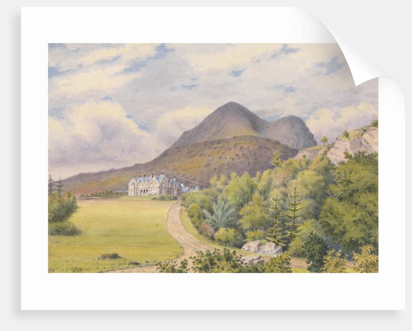 Torridon House, D. Darroch, Esqr. September 1883 [Scotland] by Edward Gennys Fanshawe