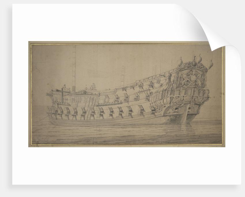 The 'York' by Willem van de Velde the Elder