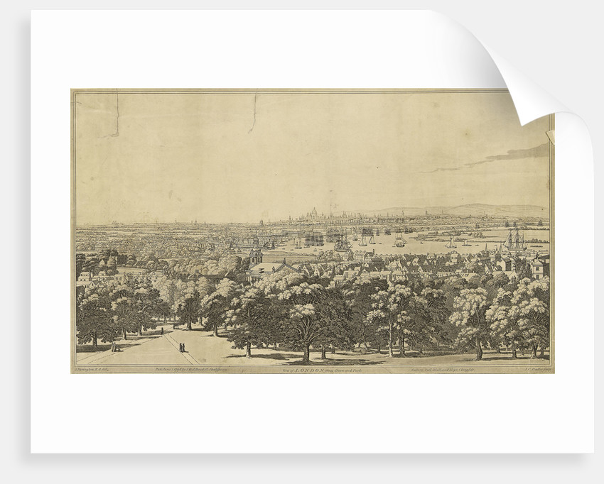 View of London from Greenwich Park by Joseph Farington