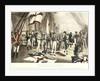 Nelson's last signal at Trafalgar by Thomas Davidson