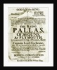 Recruitment poster for the 36-gun 'Pallas' at Plymouth, promising Spanish prize money and glory for those sailing with Captain Lord Cochrane by unknown