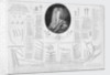 This dissection of the body of a first rate Man of Warr... (and portrait of) George St Lo Esquire Commissioner of her Majts Navy by Joseph Nutting