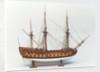 'Centurion' (1732), starboard broadside by Benjamin Slade
