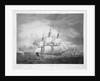 A twenty-gun ship by Robert Dodd