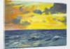 Seascape from the 'Birkdale' by John Everett