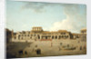 The piazza at Havana by Dominic Serres the Elder