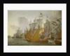 Action between the Dutch fleet and barbary pirates by Lieve Pietersz Verschuier
